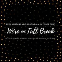 October 2017: Fall Break, No Chat