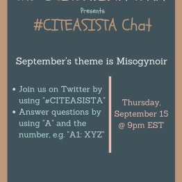 September 2016: Misogynoir, https://storify.com/CiteASista/citeasista-on-misogynoir-september-2016