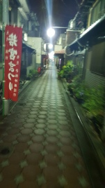 Back streets of Kyoto