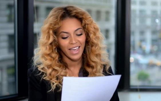 Beyonce read