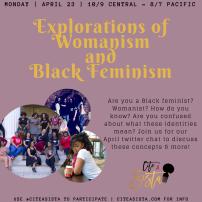 April 2018: Exploring Black Feminism/Womanism