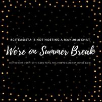 May 2018: No Chat