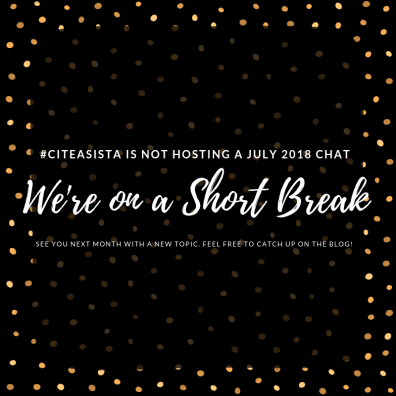 July 2018: No Chat